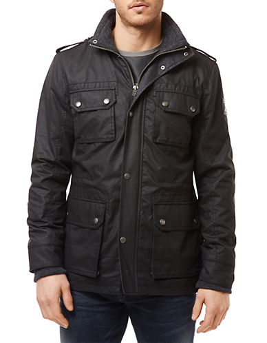 BUFFALO DAVID BITTON Jaffa Cargo Pocket Jacket