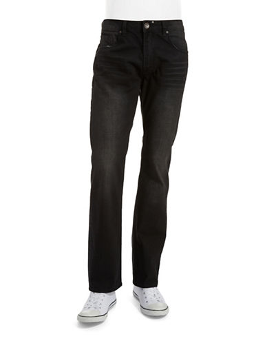 BUFFALO DAVID BITTON Six Basic Slim Straight Jeans