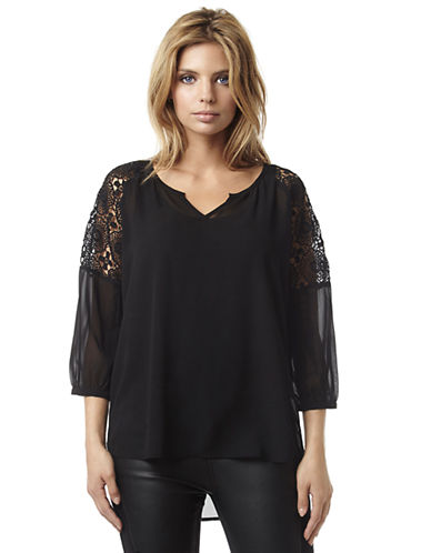 BUFFALO DAVID BITTON Strela Blouse