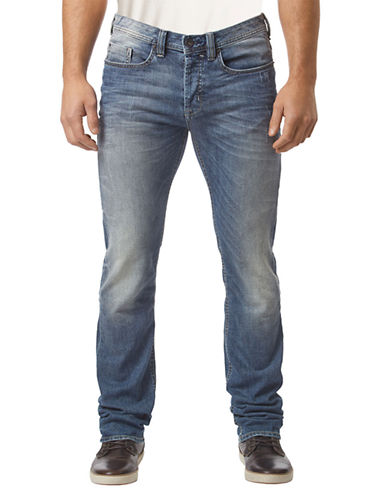 BUFFALO DAVID BITTON Evan Mid Rise Jeans
