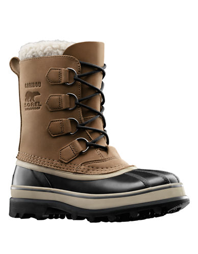 SOREL Caribou Waterproof Leather Boots