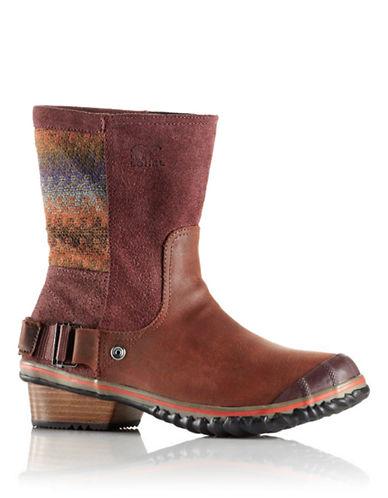 SORELSlimshortie Waterproof Leather Boots