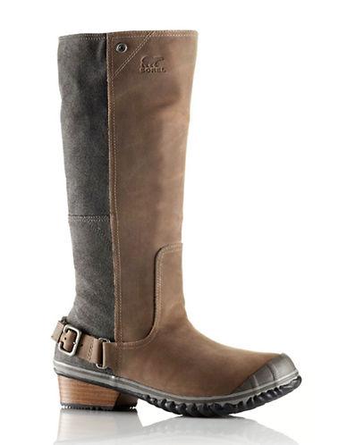 Sorel Slimboot Leather Knee Boots