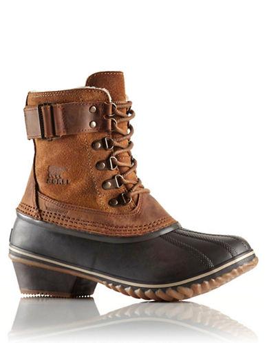SORELWinter Fancy Lace II Leather Booties