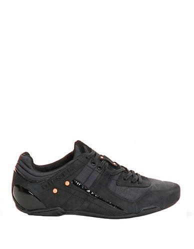 DIESELTrackkers Korbin Leather Sneakers