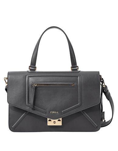 FURLAAlice Leather M Shoulder Bag