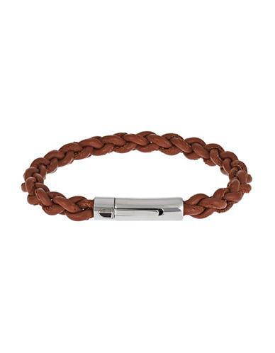 BLACK BROWN 1826Braided Bracelet
