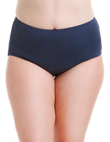 ANNE COLE WOMENSPlus Hi-Waist Swim Bottom with Tummy Control