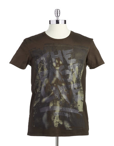 ROGUE STATE Cotton Graphic T-Shirt