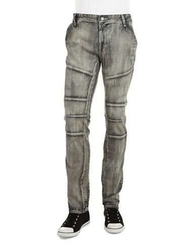 ROGUE STATEDistressed Moto Jeans