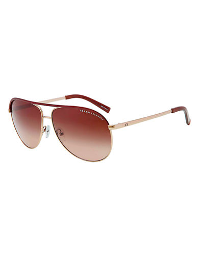 ARMANI EXCHANGE Pilot Aviator Sunglasses