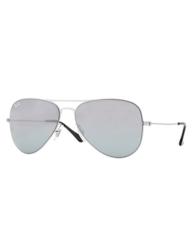 RAY-BANSteel Aviator Sunglasses