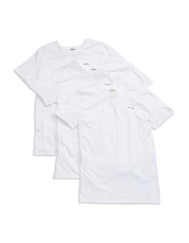 DIESELThree Pack Cotton T-Shirts