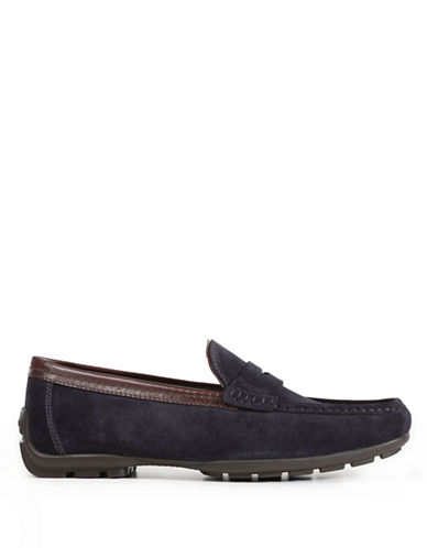 GEOX Suede Driving Moccasins