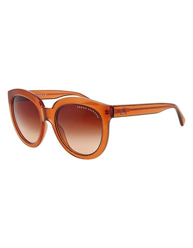 ARMANI EXCHANGEOversized Cat-Eye Sunglasses