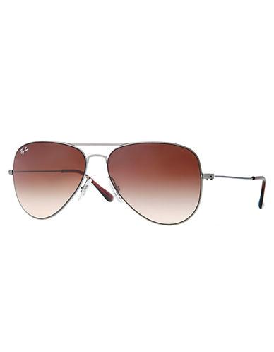 RAY-BANFlat-Metal Aviator Sunglasses