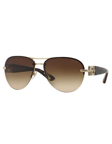 61103bd6df8b6 EAN 8053672347777 - Versace Round Rimless Aviator Sunglasses ...