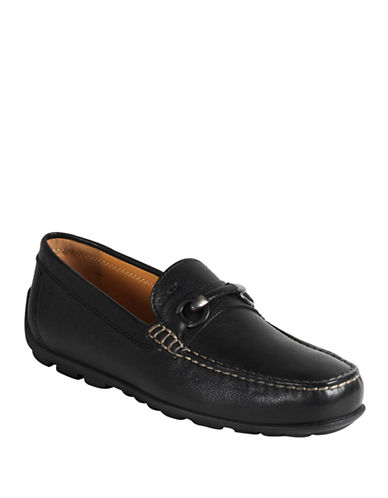 GEOXFast Slip-On Leather Loafers