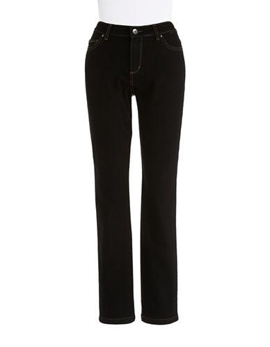 RAFAELLA PETITESPetite Dark-Washed Skinny Jeans