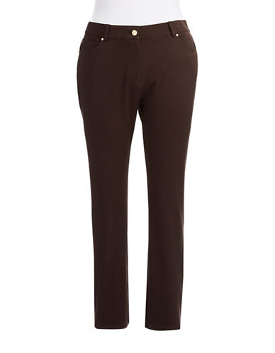 Rafaella Plus Plus Higher Rise Slacks