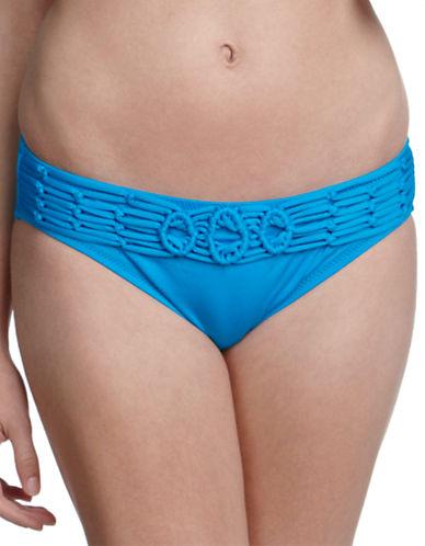 Shop Becca Swim online and buy Becca Swim Crochet Hipster Bikini Bottoms dress online