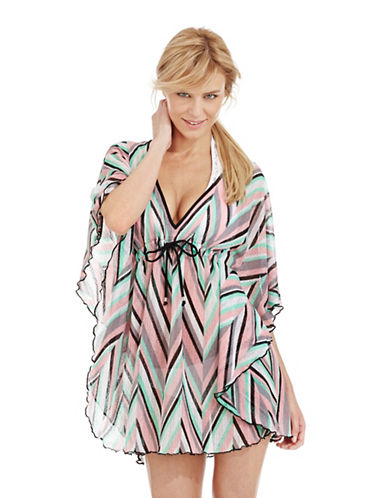 Shop Becca Swim online and buy Becca Swim Stay Connected Knit Swim Cover Up dress online