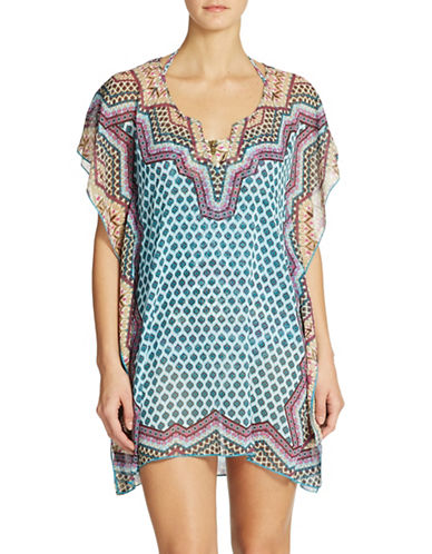 Shop Becca Swim online and buy Becca Swim Borrowed From the Boys Coverup dress online