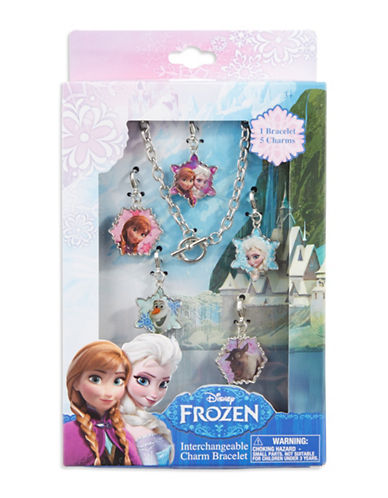 HER ACCESSORIESDisney Frozen Interchangeable Charm Bracelet Set
