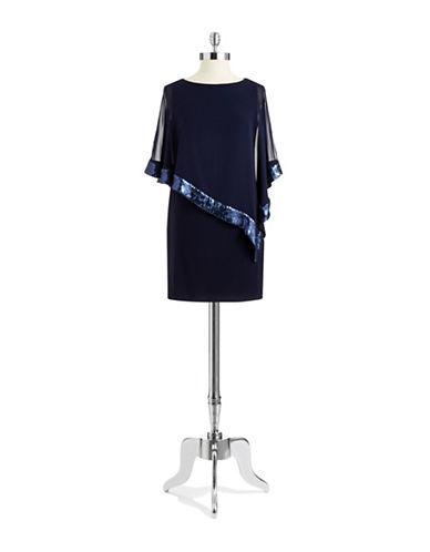 XSCAPESequin Popover Shift Dress