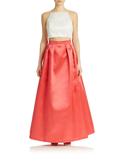 Xscape Two-Piece Tank and Skirt Gown