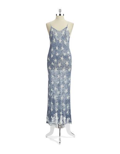 TRUEHITTStar Patterned Maxi Dress