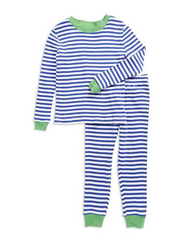 Toddler Boys Striped Pajama Set