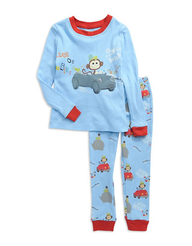 Toddler Boys Monkey Pajama Set