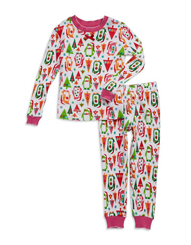 Klever Kids Christmas Penguin Pajamas for Toddlers and Girls