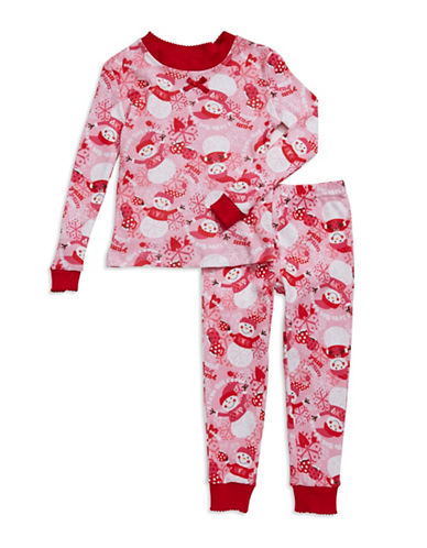 Klever Kids Holiday Snowman Pajamas for Toddlers and Girls