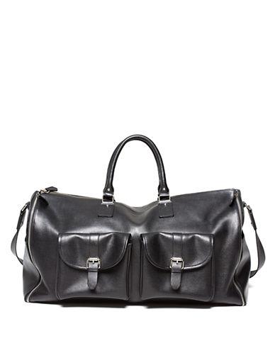HOOK + ALBERTLeather Garment Weekender Bag