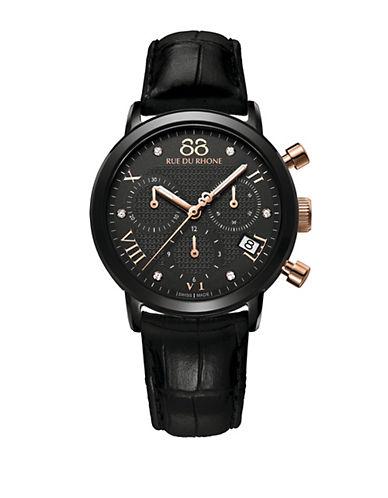 88 RUE DU RHONELadies Chronograph Watch