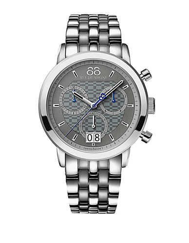 88 RUE DU RHONE Mens Double 8 Origin Quartz Chronograph Bracelet Watch