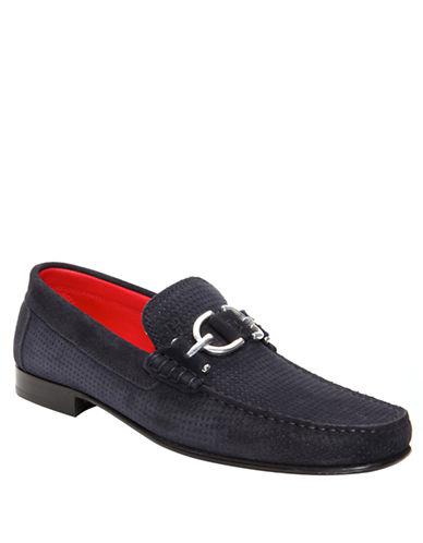 DONALD J. PLINERDacio Perforated Suede Sport Loafers