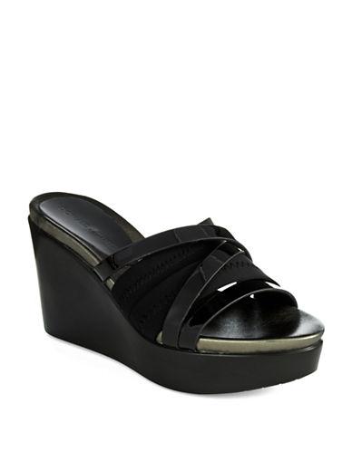 DONALD J. PLINERJean Platform Sandals