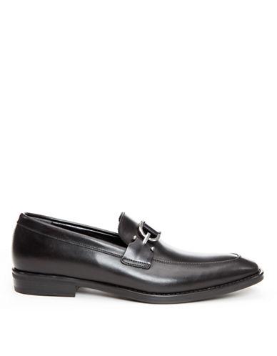 DONALD J. PLINERBryc Leather Bit Loafers