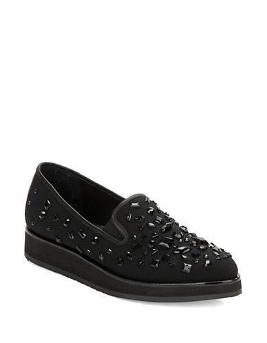 DONALD J. PLINERBetina Embellished Platform Loafers