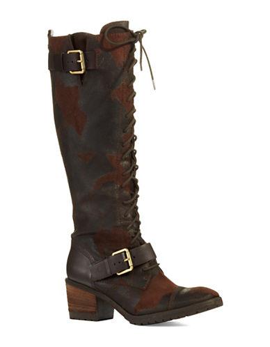 DONALD J. PLINERDnali Distressed Boots