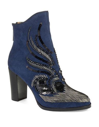 DONALD J. PLINERQuiva Bead Accented Boots