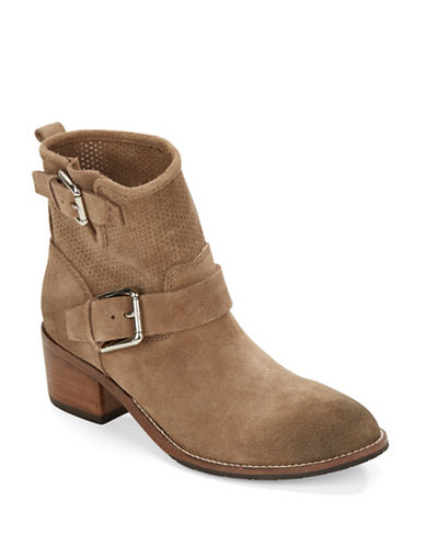 Buy Willow Suede Mid-Boots by Donald J. Pliner online
