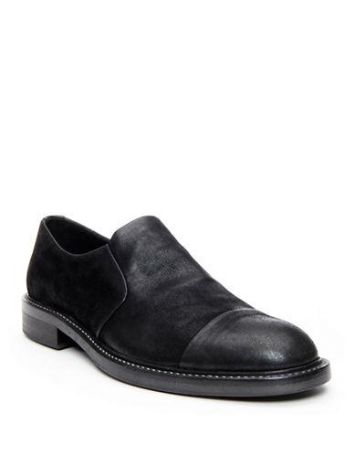 DONALD J. PLINERZarro Leather Slip-On Loafers