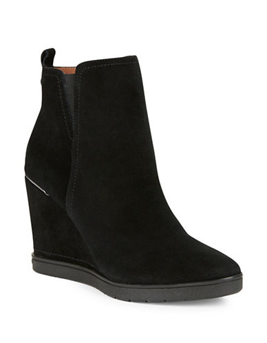 Buy Cascade Suede Wedge Ankle Boots by Donald J. Pliner online