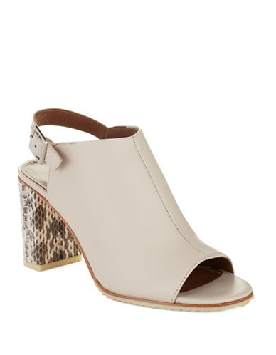 DONALD J. PLINER Inaa Leather Mules