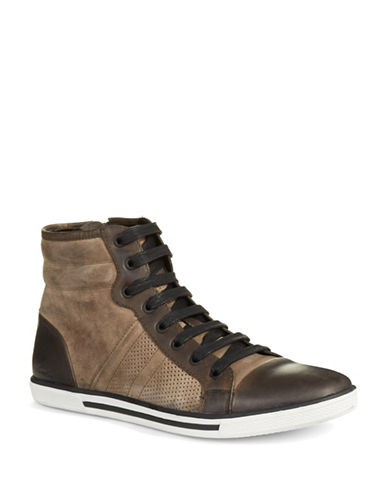 Shop Kenneth Cole Reaction online and buy Kenneth Cole Reaction Base Down Low Chukkas shoes online