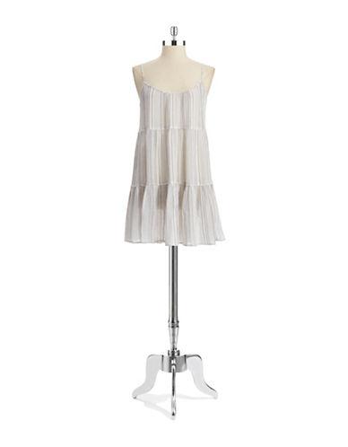 Shop C&C California online and buy C&C California Striped Textured Dress dress online